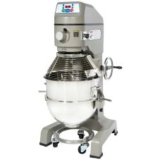 Globe Food SP60-1 3-Speed 60 Qt Floor Model Vertical Mixer with Bowl
