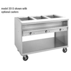 "Randell® 3513-120 Electric 48"" 120V Open Well Hot Food Table"