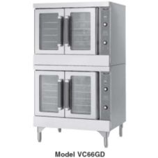 Vulcan Hart VC66GC Double Deck S/S Gas Bakery Depth Convection Oven