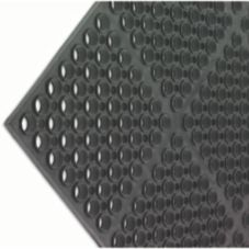 San Jamar® KM2100B Medium Duty Black Tuf-Mat