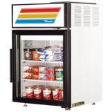 True® GDM-5F-LD Countertop Glass Door 5 Cu Ft Merchandiser Freezer