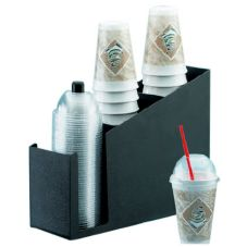 "Cal-Mil 724 ABS 15.5 x 5 x 12"" Cup / Lid Organizer"