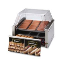 Star® Mfg Grill Max® 1150-W Grill f/ 30 Hot Dogs w/ Bun Drawer