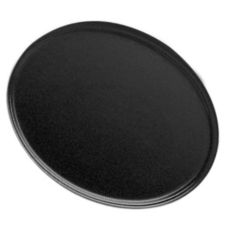 "Cambro® Black 22"" x 26-7/8"" Oval Camtray®"
