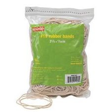 Staples® Advantage 646092 #19 Rubber Band - 1 / BG
