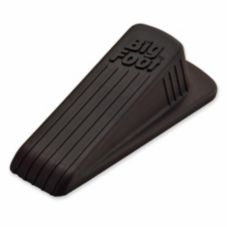 Master MAS00920 Big Foot Brown Rubber No-Slip Doorstop
