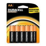 Staples® Advantage 318923 Alkaline AA Battery - 8 / PK