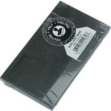Staples® Advantage 505875 Black Felt Size 2 Stamp Pad