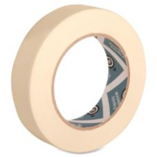 "Business Source BSN16461 Tan 60 Yd. x 1"" Masking Tape - 1 / RL"