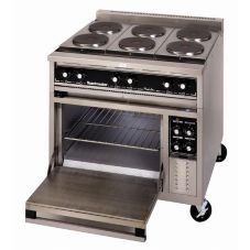 Toastmaster TRE36D4M Electric Range And Deck Oven W/ French Hot Plates