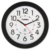"Staples® Advantage 687525 Slimline 10"" Quartz Wall Clock"