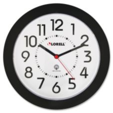 "Lorell LLR60990 Radio-Controlled 8.5"" Wall Clock"