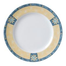 "Vertex® Euro Alpine Daisies Collection 10-1/2"" Plate"