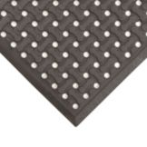 NoTrax® T18-U0046-BL 4' x 6' Superflow® Black Floor Mat