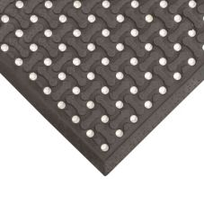 NoTrax® T18U0046BL Black 4' x 6' Superflow® Floor Mat