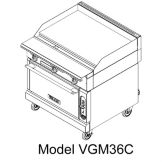 "Vulcan Hart VGM36 V Series HD 36"" Griddle-Top Gas Range"
