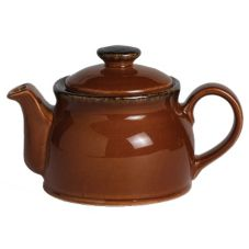 Steelite Performance Terramesa Mocha 15 Oz Club Teapot