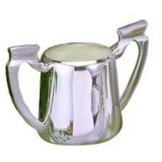 Eastern Tabletop S/S 10 Oz Cadillac Sugar Bowl with Easy Grip Handles