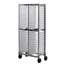 New Age Industrial NS603A Aluminum 52 Pan Capacity Mobile Pizza Rack