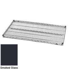 Metro® 2430N-DSG Super Erecta® 24 x 30 Smoked Glass Wire Shelf