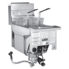 Pitco SG14RDI Solstice™ High Power Drop-in Single Pot Gas Fryer