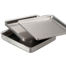 """American Metalcraft HCSQ1020 HC Aluminum 10"""" Square Pizza Pan"""