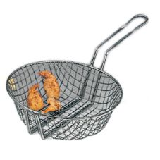 American Metalcraft CBC8 Coarse Tinned Steel Mesh 8 In Culinary Basket