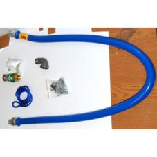 "Dormont 1675BPQ60RDC 3/4"" x 60"" Gas Hose Kit With Quick Disconnect"