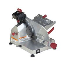 "Berkel 825E Gravity Feed Meat Slicer With 10"" Knife And Sharpener"