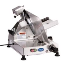 "Globe Food Chefmate® Aluminum 12"" Belt Driven Manual Slicer"