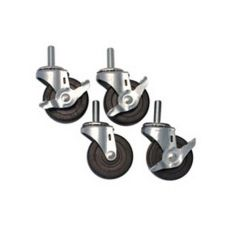 "Beverage-Air® 00C26-012A Set of 4 3"" Casters for BB58 / MS58"