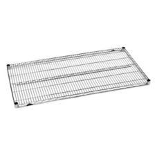 "Metro® 1848NS Super Erecta 18"" x 48"" S/S Wire Shelf"