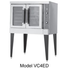 Vulcan Hart VC4EC S/S Single Deck Electric Convection Oven