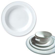 Steelite 13150215 Simplicity Laguna 12.8 Oz Soup Plate - 24 / CS
