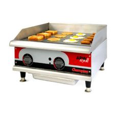 "APW Wyott 18"" Export Manual Gas Countertop Griddle, GGM-18H-CE"