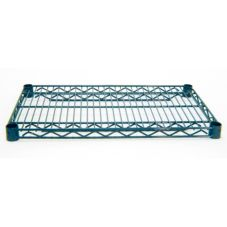 "Advance Tabco EG-1848 18"" x 48"" Green Epoxy Wire Shelving"