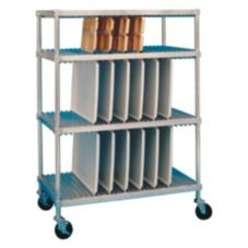 "Win-Holt® WDR-2460-4-1 Aluminum 24 x 60"" Tray Drying Rack"