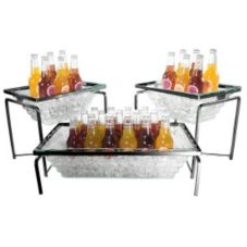 Gourmet Display® BH2307-B-C Acrylic 3 Piece Beverage Display Set