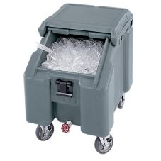 Cambro® ICS100L191 Mobile 100 Lbs Capacity Slant Top Ice Caddy