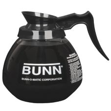 BUNN® 42400.0103 64 Oz. Black 12-Cup Coffee Decanter - 3 / PK