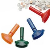 Block & Company 224000400 Four Piece Coin Counting Tube Set