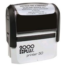 Black & Company 1411SI20P07 Red Self-Inking Merchandise Only Stamp