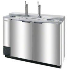 Beverage-Air® DD50C-1-S S/S Club Type 2-Keg Draft Beer Cooler