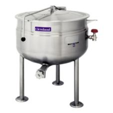 Cleveland Range KDL40F Direct Steam 40 Gal. Kettle with Tri-Leg Base