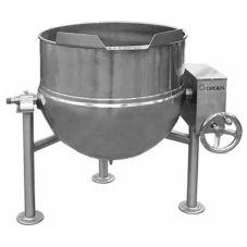 Groen™ DL-60 Direct Steam 60-Gal Tilting Kettle with Crank Tilt