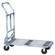 "Win-Holt® 500CH Steel 18 x 37"" Stocking and Marketing Cart"