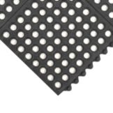 NoTrax® 993-437 Black 3' x 3' Ultra Mat® Floor Mat