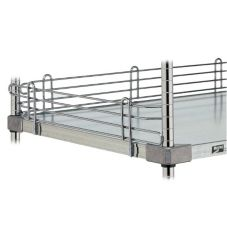 Metro® L42WS Super Erecta® 4 x 42 Stainless Shelf Ledge