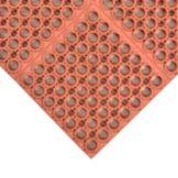 """NoTrax® 065-591 Hercules® 39"""" x 39"""" Red Floor Mat"""