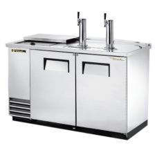 True TDD-2CT-S Club Top Direct Draw Beer Dispenser For 2 Half Barrels